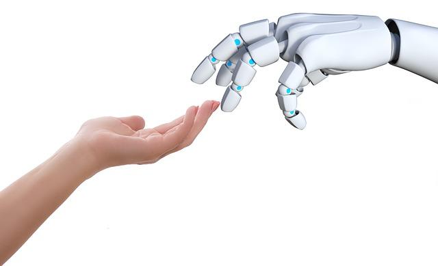 robot-et-humain